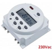 Temporizador com relé 230V...
