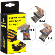 Jumper Wire Dupont 20cm M-F...