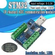 Módulo STM32F103C8T6 com 10...