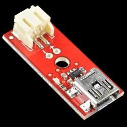 Carregador LiPo Basic 3,7V - Mini USB