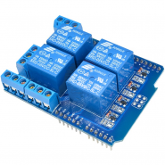 4x 10A Relay Shield for...