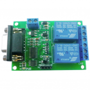 2CH RS232 Relay for PC UART...