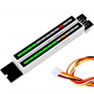 VU Meter Stereo com 12 níveis
