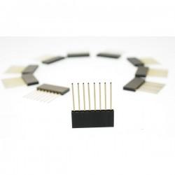Conector 8 vias para arduino (Stackable Header)