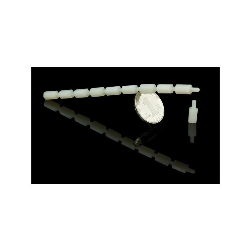 Pack M3 * 10 em nylon (10 conjuntos)