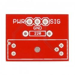 Breakout Board para interruptor ótico GP1A57HRJ00F