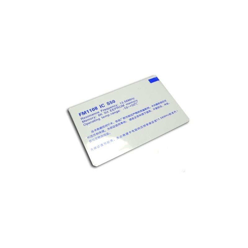 Cartão RFID Milfare-One (13.56Mhz)