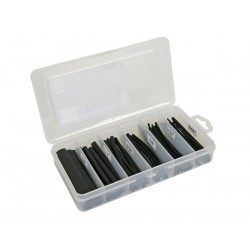 HEAT-SHRINKABLE TUBE KIT - BLACK