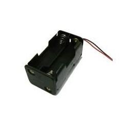 Suporte para 4 pilhas AA -RC06 c/fios
