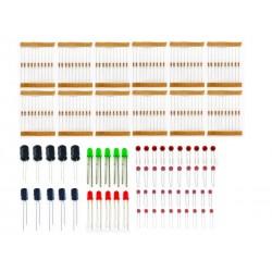 Pack Basico de Componentes Electronicos 20 em 1