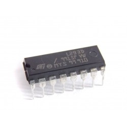 L293D - Dual H-Bridge for DC Motor or Stepper Driver