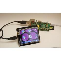 """Ecrã Tátil 2,8"""" para Raspberry Pi"""
