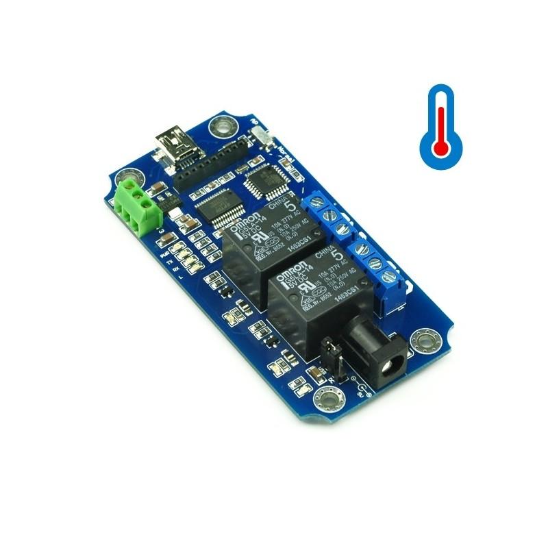 Modulo de Relés 2 Canais USB/Wireless