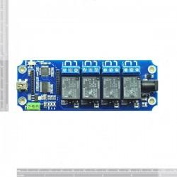 Modulo de Relés 4 Canais USB/Wireless