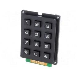 Numeric Keypad 12 black keys
