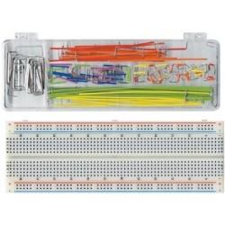 Breadboard com kit de 140 fios