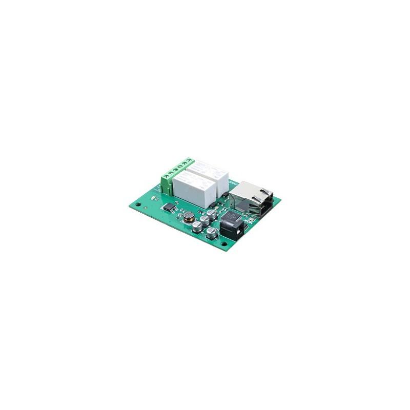ETH002 - Modulo 2 Relés IP