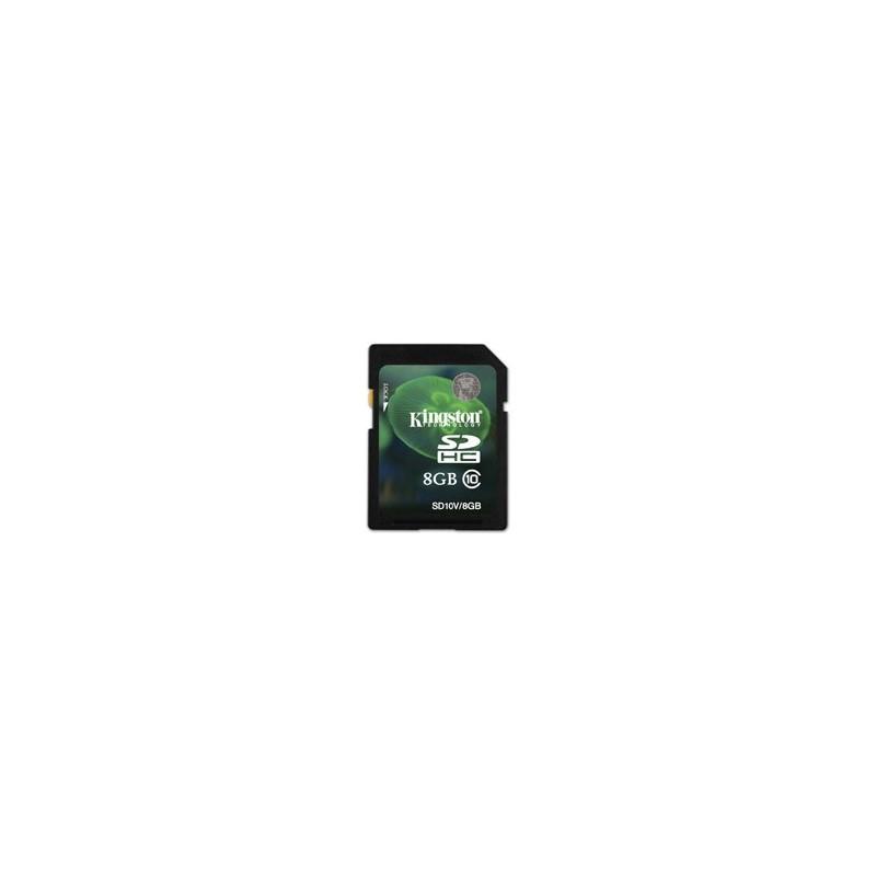 Kingston SDHC Card 8GB Class 10