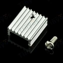 Dissipador TO220 em alumínio
