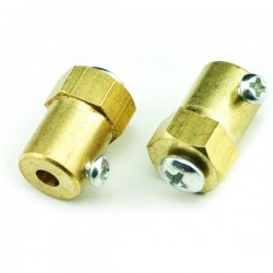 Wheel - Motor Adapter (2 Pack) - Hole Diameter: 4mm