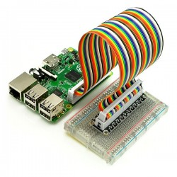 GPIO Breakout Board Kit for Raspberry Pi Model B+