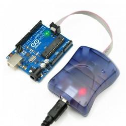 USBtinyISP V2 AVR ISP Programmer with Plastic Box