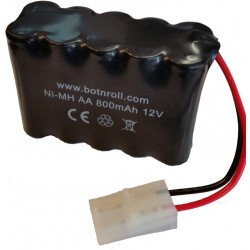 Battery Ni-MH 12V 800mAh AA