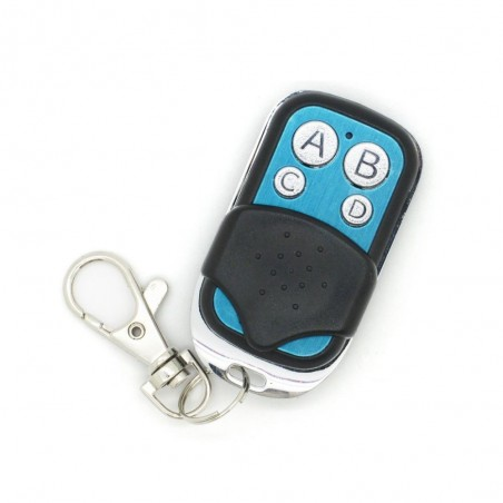Wireless 4 Buttons Push Cover Remote Controller