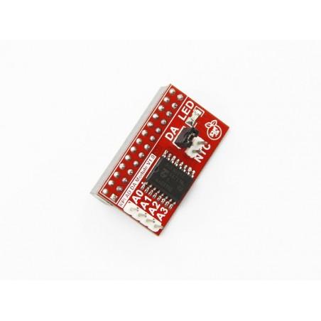 Placa de expansão Raspberry Pi B+ AD/DA