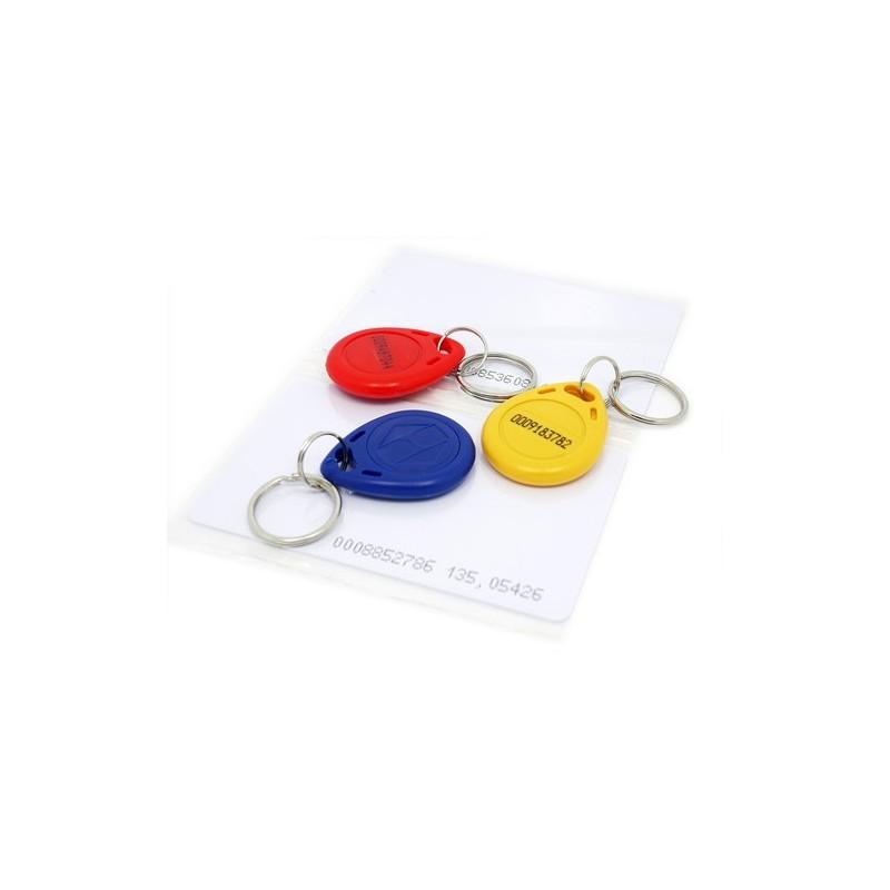 Conjunto tags RFID (125khz) - 5 pcs