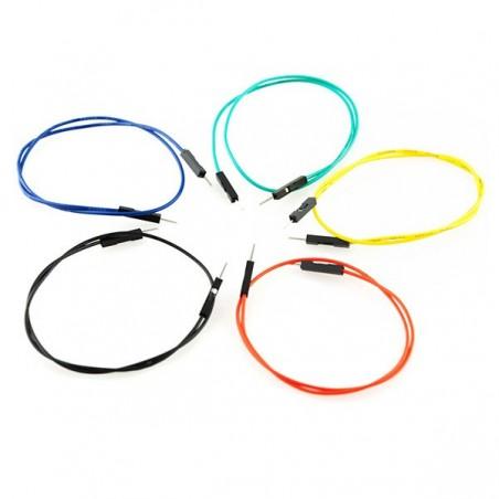 """Jumper Wires Premium 12"""" M/M Pack of 10"""