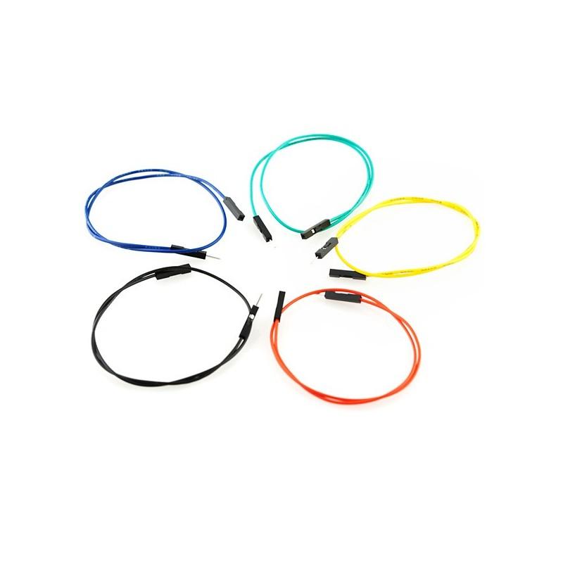"""Jumper Wires Premium 12"""" M/F Pack of 10"""