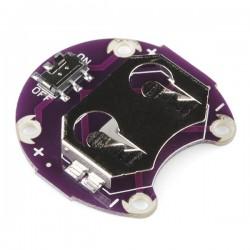 LilyPad Suporte de Pilha tipo Botão - Comutado – 20mm