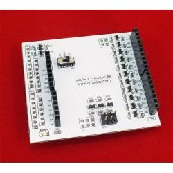 TBoard to Bridge Arduino Shield to pcDuino V1 with Level Shifter