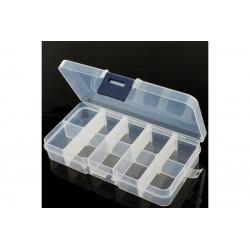 Caixa de Compartimentos Ajustáveis - 10 compartimentos