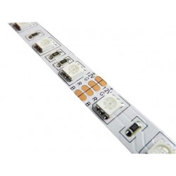 Flexible RGB Tape with 300 SMD5050 LEDs IP65 5mts 12V