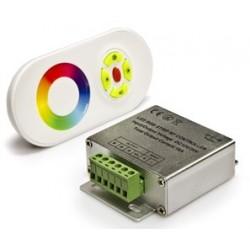 Controlador Fita de LEDs RGB 12/24V 24A 288W c/ Comando Touch