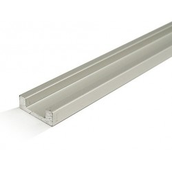 "Aluminum Profile ""U"" w / 10mm Tape LEDs - 2 m"