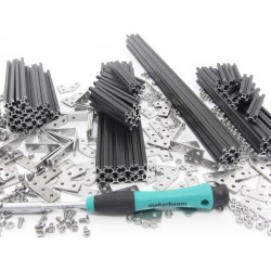 MakerBeam Starter Kit black anodised w/ BOX