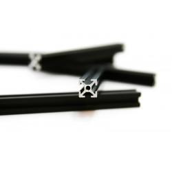 Perfil de Construção 300mm, 4 peças preto Anodizado