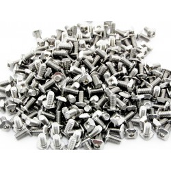 bag of M3 bolts with square head and hex hole, 6mm for makerbeam