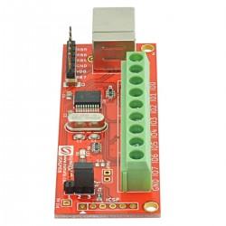 Módulo GPIO 8 canais com entradas analógicas