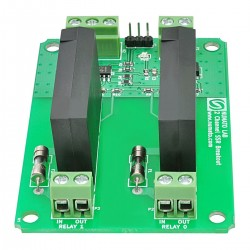 2 Channel AC Solid State Relay Controller Board