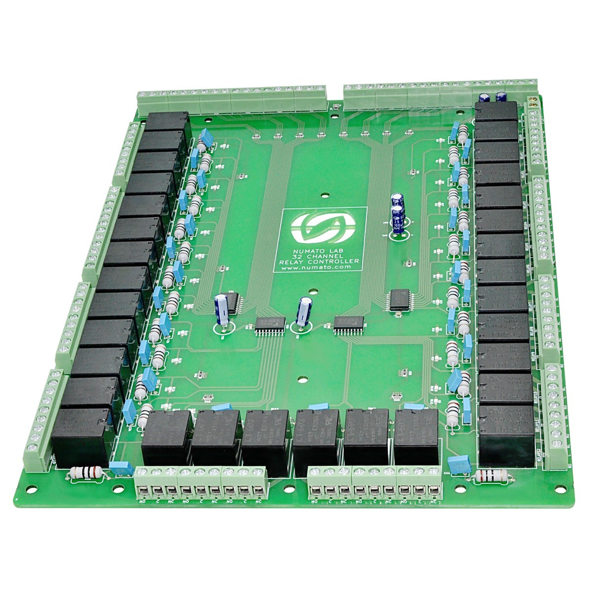 32 Channel Relay Controller Board No Nc