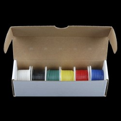 Hook-Up Wire - Assortment (Stranded, 22 AWG)