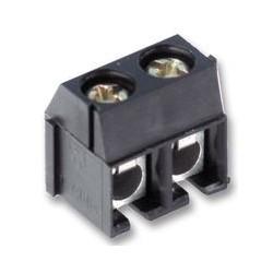 Conector preto 2 pinos