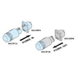 Plug Powercon In 3 Pins - SPEAKON