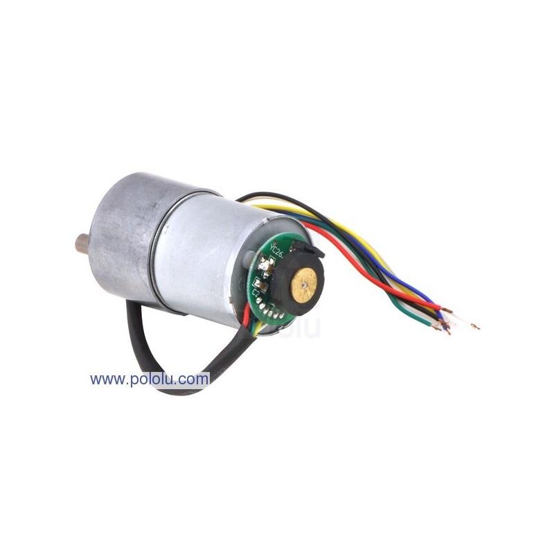 Motor 12V DC com Encoder 100rpm