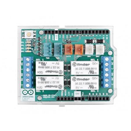 Arduino 4 relays shield