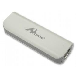 Banco Portatil de Energia (POWER BANK) USB 5V 2600mAh – Cinza